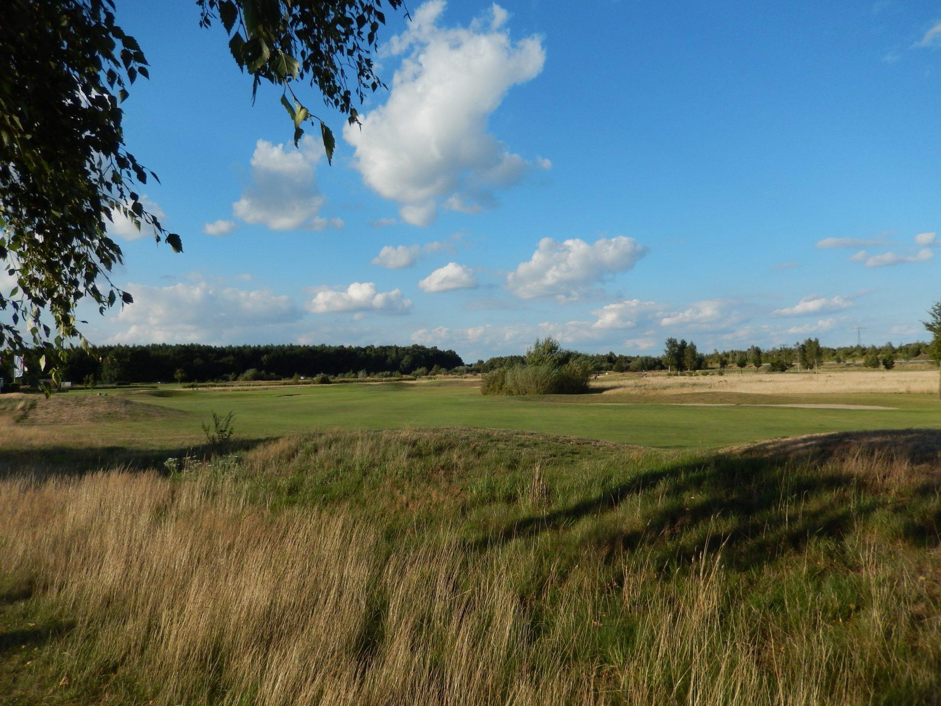 Der Golfplatz überzeugt mit seiner Größe